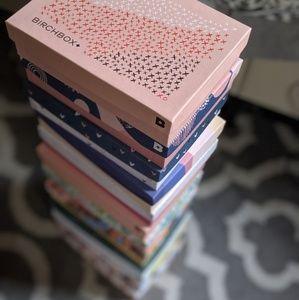 Birchbox boxes